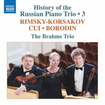 Cover History of the Russian Piano Trio, Vol. 3