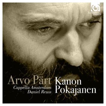 Cover Arvo Pärt: Kanon Pokajanen