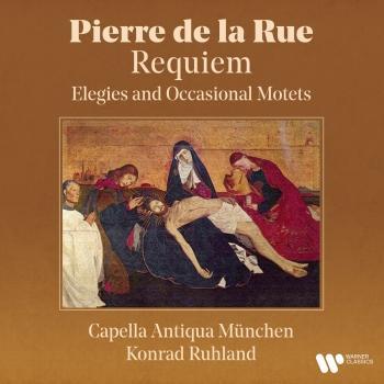 Cover De la Rue: Requiem - Elegies and Occasional Motets (Remastered)