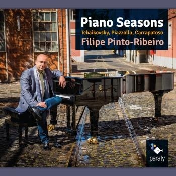 Cover Tchaikovsky, Piazzola & Carrapatoso: Piano Seasons