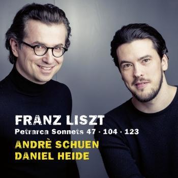 Cover Liszt: Petrarca Sonnets