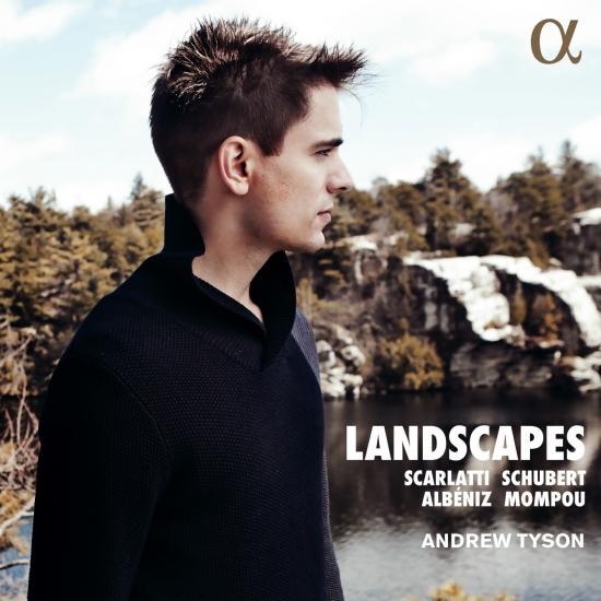 Cover Landscapes: Scarlatti, Schubert, Albéniz & Mompou