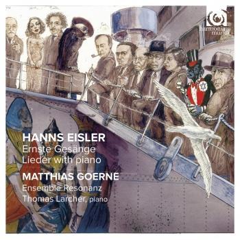 Cover Hanns Eisler: Ernste Gesänge, Lieder mit Klavier