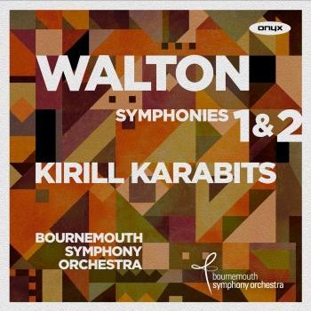 Cover Walton: Symphonies 1 & 2