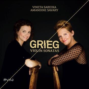 Cover Edvard Grieg: Violin Sonatas