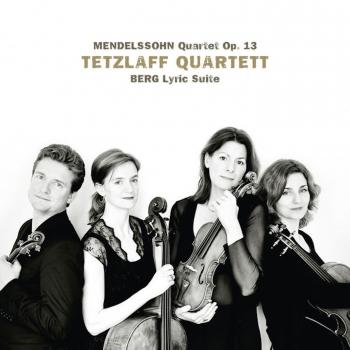 Cover Mendelssohn: String Quartet in A Minor, Op. 13 / Berg: Lyric Suite