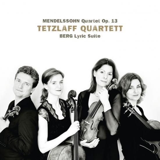 Cover Mendelssohn: String Quartet in A Minor, Op. 13 / Berg: Lyric Suite