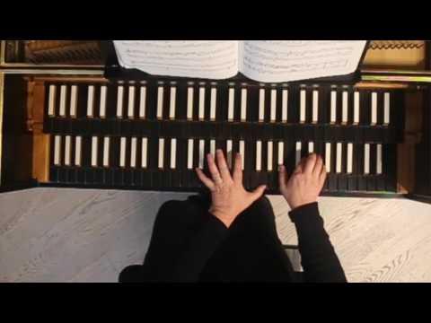 Video Elisabetta Guglielmin - É. de La Guerre: Harpsichord Suite #1. Prelude