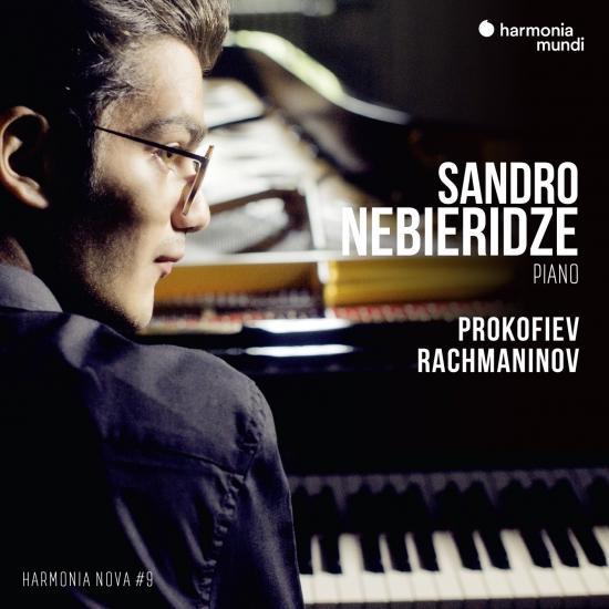 Cover Sandro Nebieridze - Prokofiev & Rachmaninov - harmonia nova #9