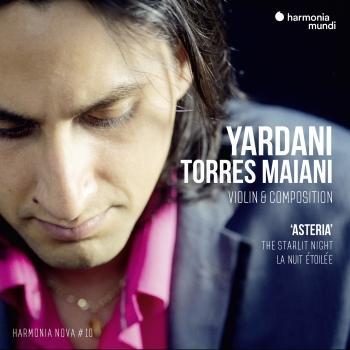 Cover Yardani Torres Maiani - Asteria - harmonia nova #10