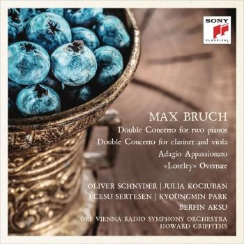 Cover Bruch: Double Concertos, Adagio appassionato & Loreley Overture