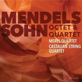 Cover Mendelssohn: String Quartet No. 1 in E-Flat Major & Octet in E-Flat Major
