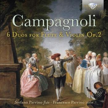 Cover Campagnoli: 6 Duos for Flute and Violin, Op. 2