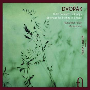 Cover Dvoøák: Cello Concerto in A Major & Serenade for Strings in E Major