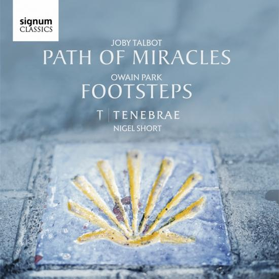 Cover Owain Park & Joby Talbot: Footsteps & Path of Miracles