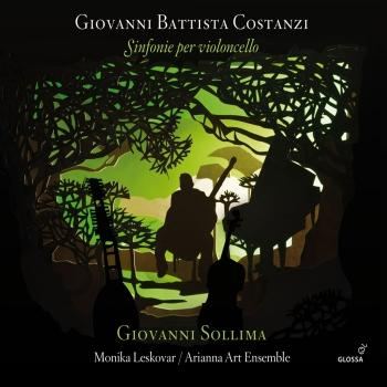 Cover Costanzi: Sinfonie per violoncello