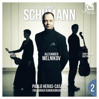 Cover Schumann: Piano Concerto Op. 54, Piano Trio No. 2 Op. 80