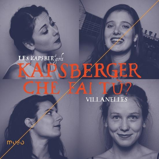 Cover Kapsberger: Che fai tù? [Villanelles]