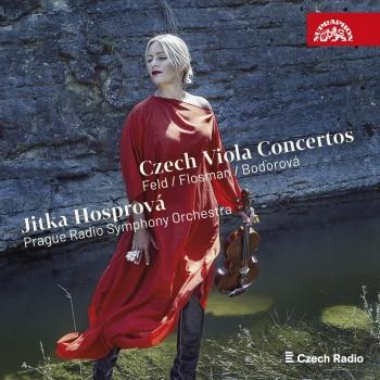 Cover Flosman, Feld & Bodorová - Czech Viola Concertos