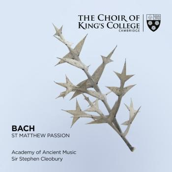 Cover Bach: St. Matthew Passion
