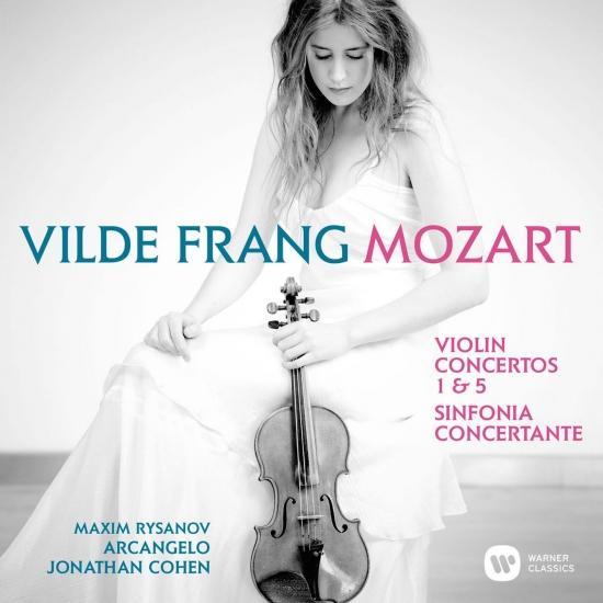 Cover Mozart: Violin Concertos Nos 1, 5 & Sinfonia concertante