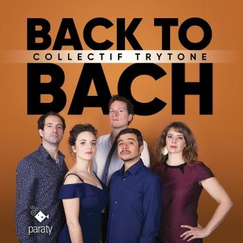 Cover BACK TO BACH