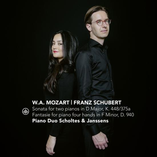 Cover Sonata for Two Pianos in D Major, K. 448/375a   Fantasie for Piano Four Hands in F Minor, D. 940