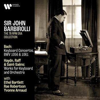 Cover Bach: Keyboard Concertos, BWV 1056 & 1061 - Haydn, Raff & Saint-Saëns: Works for Keyboard and Orchestra