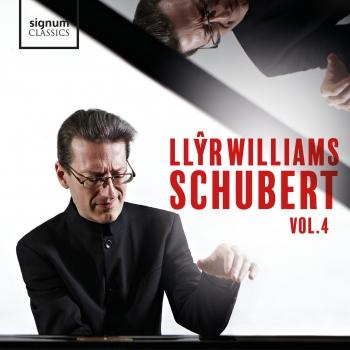 Cover Llŷr Williams: Schubert, Vol. 4