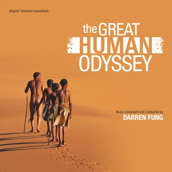 Cover The Great Human Odyssey