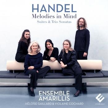 Cover Handel: Melodies in Mind (Suites & Trio Sonatas)
