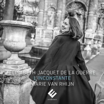 Cover Jacquet de La Guerre: L'inconstante