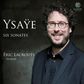 Cover Ysaÿe: Six sonates