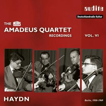 Cover Haydn: String Quartets (The RIAS Amadeus Quartet Recordings, Vol. VI - Remastered Mono)