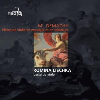 Cover De Machy: Pièces de violle en musique et en tablature