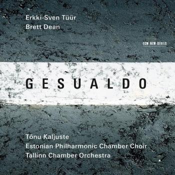 Cover Erkki-Sven Tüür & Brett Dean: Gesualdo