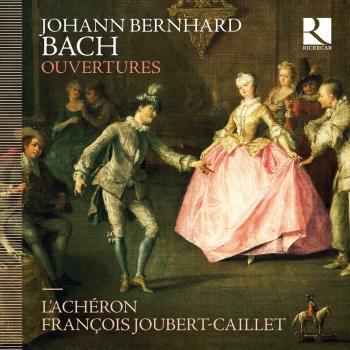 Cover Johann Bernhard Bach: Ouvertures