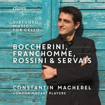 Cover Boccherini, Franchomme Rossini & Servais: Virtuoso Music for Cello and Strings