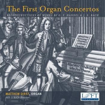 Cover The First Organ Concertos