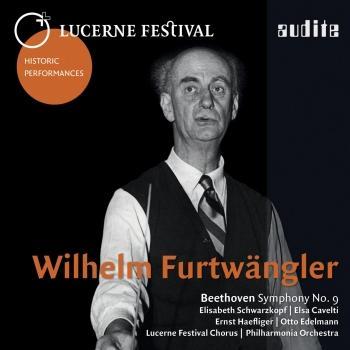 Cover Beethoven Symphony No. 9, Op. 125 (Lucerne Festival Historic Performances)