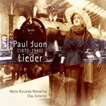 Cover Paul Juon: Lieder