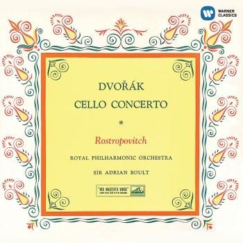 Cover Dvorák: Cello Concerto (Remastered)