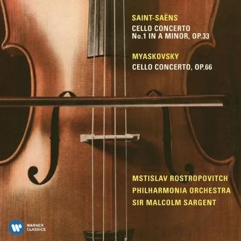 Cover Saint-Saëns: Cello Concerto No. 1 & Miaskovsky: Cello Concerto (Remastered)