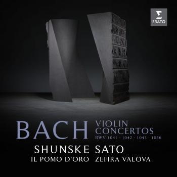 Cover Bach: Violin Concertos