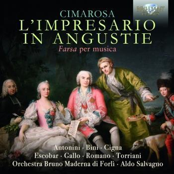 Cover Cimarosa: L'impresario in angustie