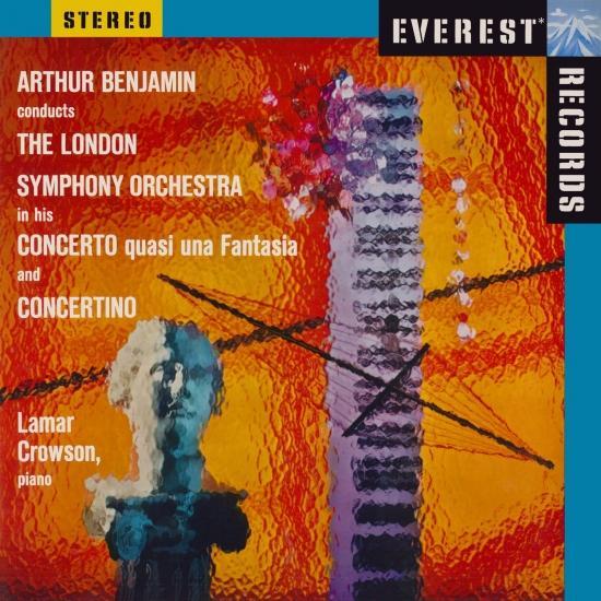 Cover Benjamin: Concerto quasi una Fantasia & Concertino (Remastered)