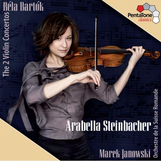 Cover Bartok: The Two Violin Concertos