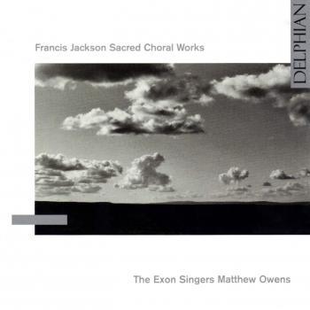 Cover Francis Jackson: Sacred Choral Works