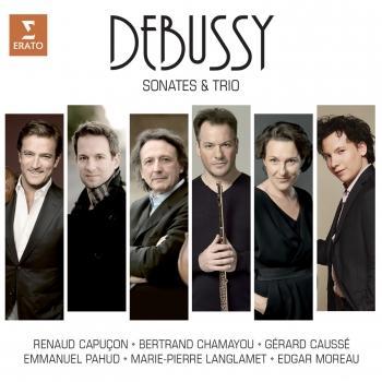 Cover Debussy: Sonatas and Piano Trio