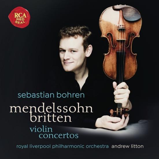 Cover Mendelssohn & Britten: Violin Concertos